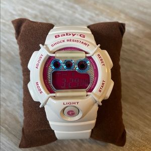 Baby-G Shock! White, Pink and Blue